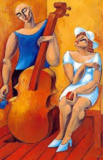 Cello 1994 Limited Edition Print -  Yuroz