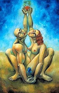 Lovers Reach 2004 Limited Edition Print -  Yuroz