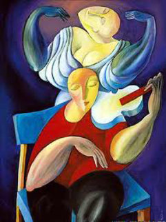 White Violin 1989 Limited Edition Print -  Yuroz