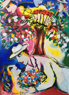 Beneath the Tree 2004 Limited Edition Print - Zamy Steynovitz