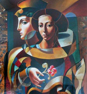 Renaissance Lovers 1998 Limited Edition Print - Oleg Zhivetin