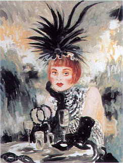 Lola from Moulin Rouge Suite 1998 Limited Edition Print - Joanna Zjawinska