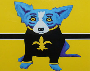 Blue Dog George Rodrigue Art