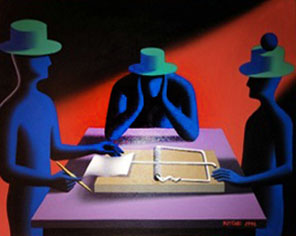 Mark Kostabi Art