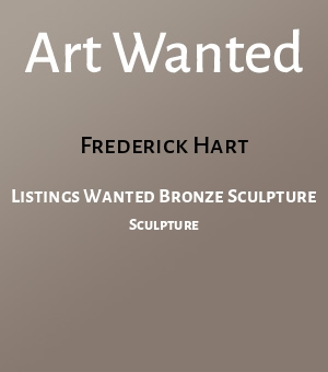 Listings Wanted Bronze Sculpture