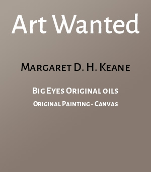 Big Eyes Original oils