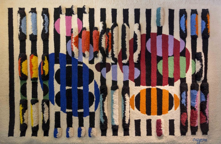 Untitled Wool Tapestry 1982