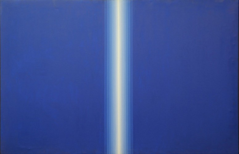 Blue Divide 1968 by Roy Ahlgren