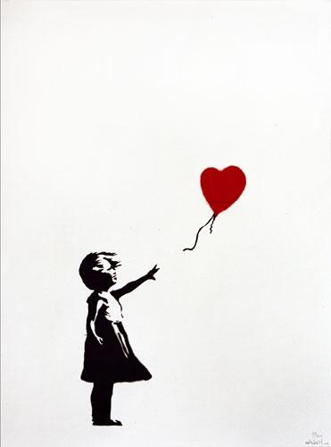 Girl with Balloon 2004