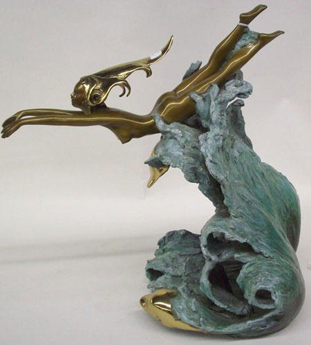Companions Bronze Sculpture