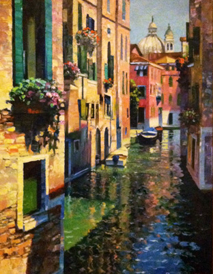 Intrinsically Venice 53x41 by Howard Behrens