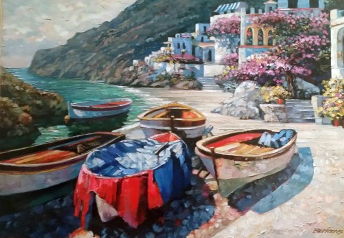 Capri Cove 2001 by Howard Behrens