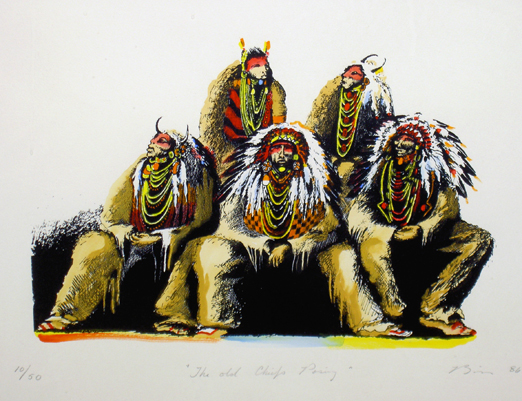Old Chiefs Posing