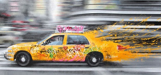 Going to New York 2014 by Mr. Brainwash