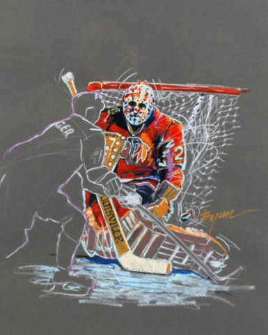 Great Save Drawing 1991 (Hockey)