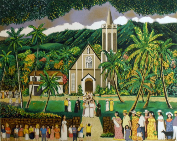 Maria Lanikila Church Hawaii