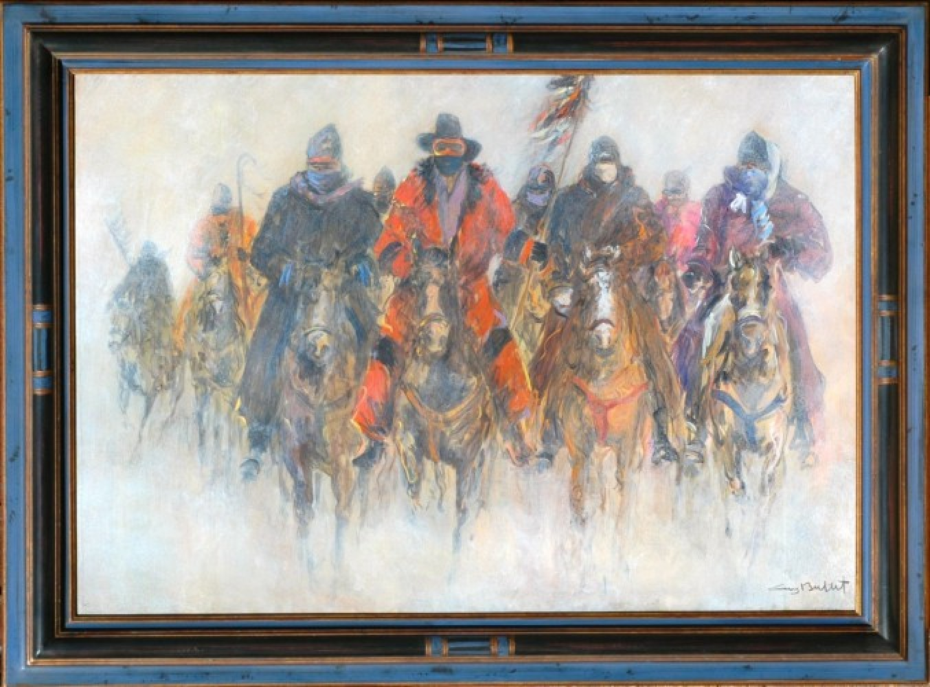 Meeting At Wounded Knee 35x50