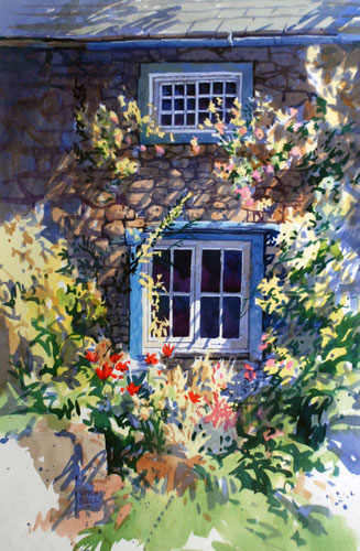 Window in Eskdale 1990