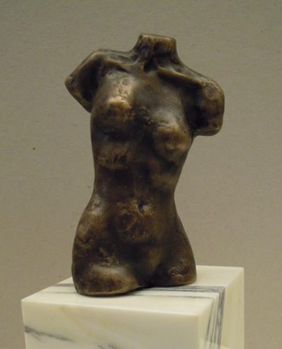Woman Bronze Sculpture 2014 by Teddy Carraro