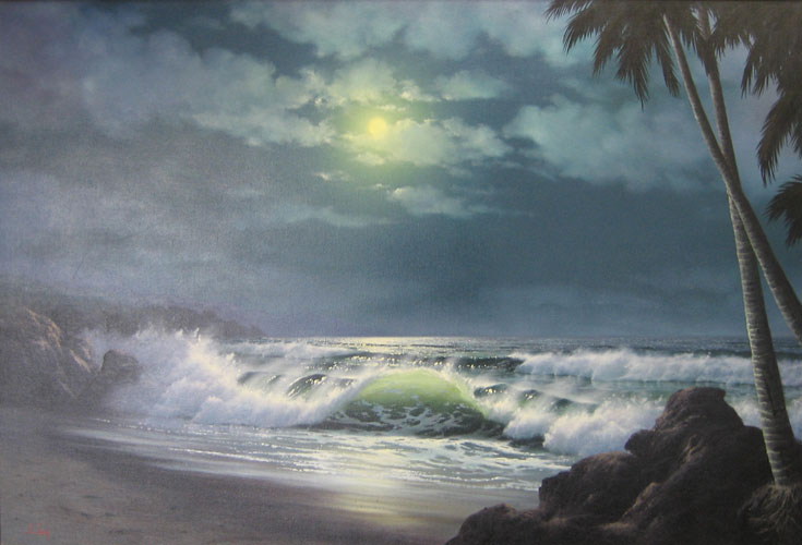 Moonlight Seascape 1976