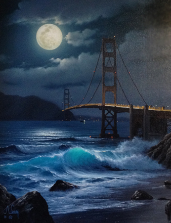 Golden Gate Glory, San Franciso Bridge