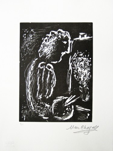 Pour Vava, Suite of 4 Linocuts 1984