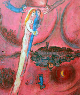 Song of Songs III 1975 Poster by Marc Chagall