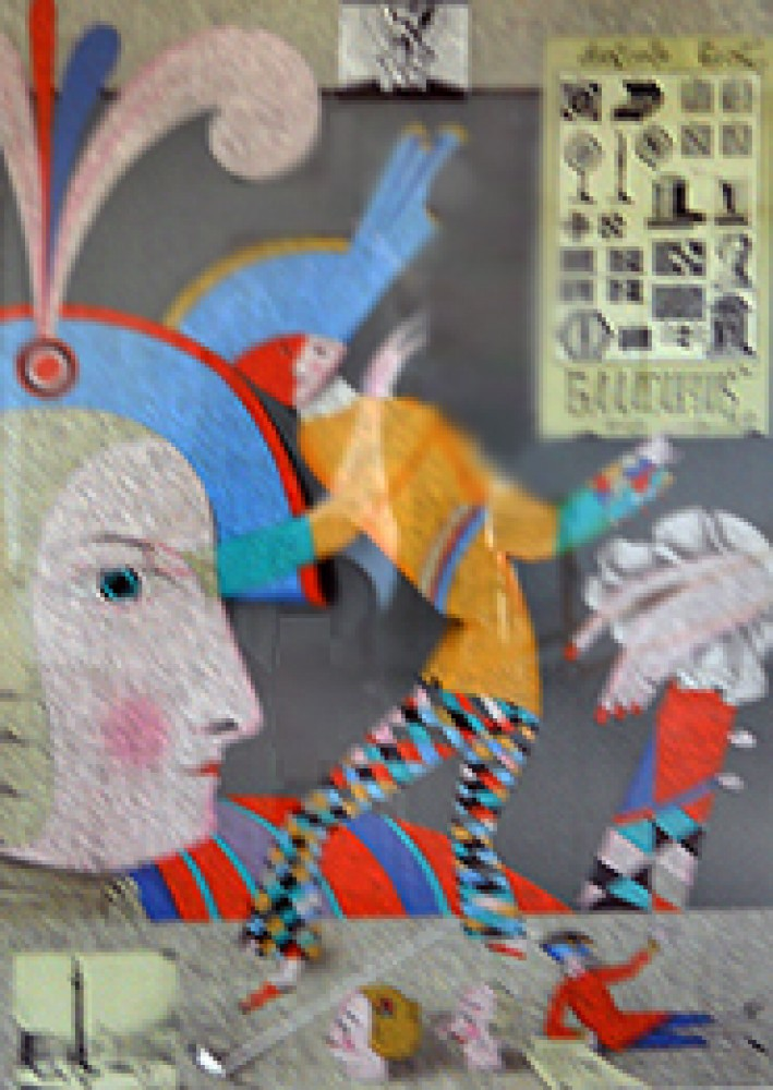 Cirque Russe  I and II, Suite of 2 Lithographs 1987