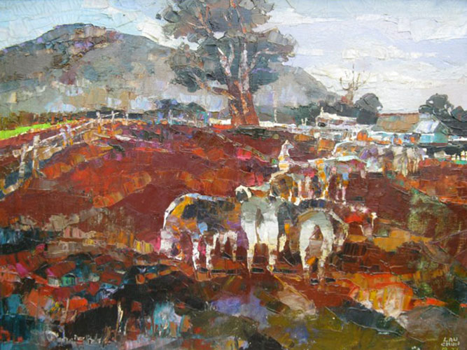 Untitled Hawaiian Cow Pasture 1977