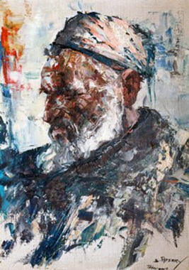 Portrait of an Islamic Man 1975