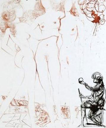 Mythology Judgment of Paris 1963