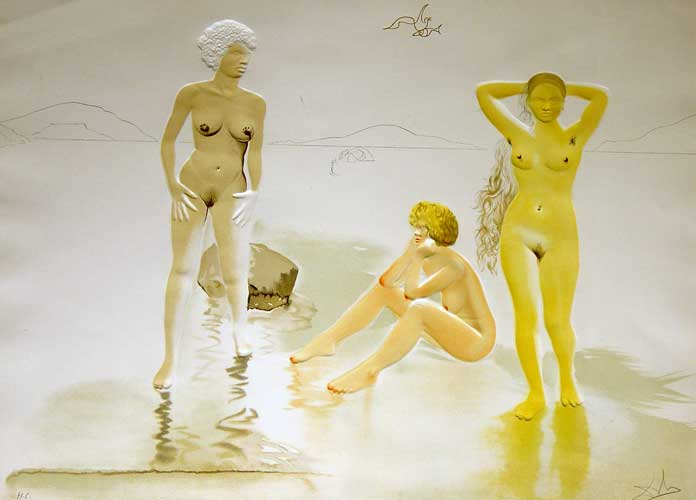 Three Graces of Cova D