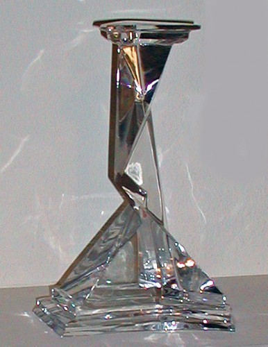 Baccarat Crystal Glass Sculpture 1977