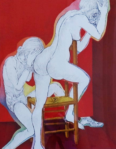 Without Hope From the Marquis De Sade 1967 by Salvador Dali