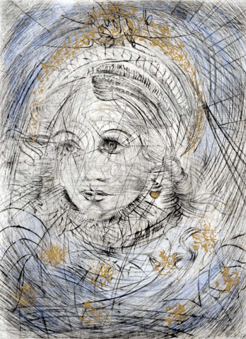 Marguerite (Faust) 1969 by Salvador Dali