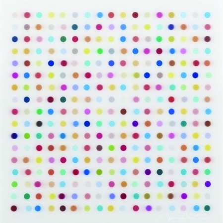 Mescaline Lenticular 2014 by Damien Hirst