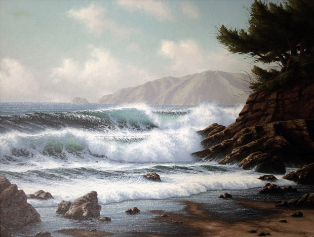 Incoming Tide, Near Monterey, California 1981
