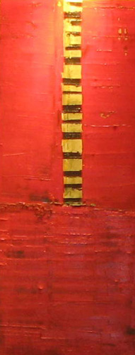 First Abstract Painting 2000 by William Debilzan