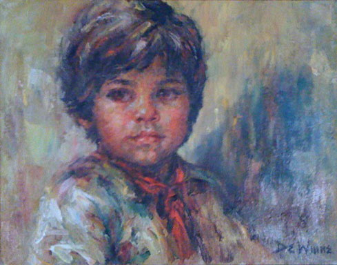 Untitled Portrait of a Boy 1980