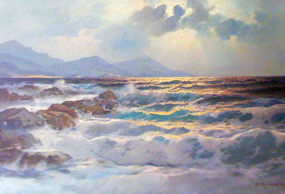 Untitled Coastal Landscape