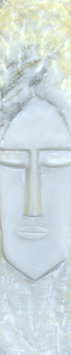 Face Marble Sculpture
