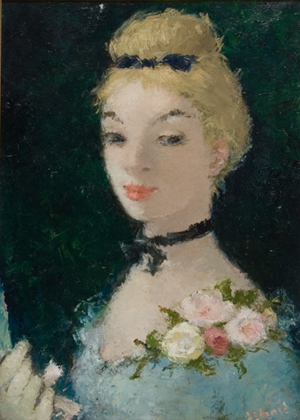 Untitled Portrait of Blonde Woman