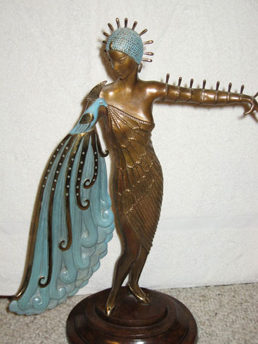 Diva Bronze Sculpture 1984