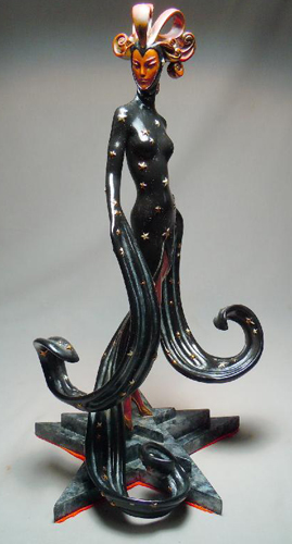 Bal Tabarin Bronze Sculpture 1989