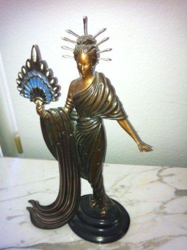 Aphrodite Bronze Sculpture AP 1986