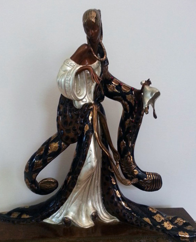 Rigoletto Bronze Sculpture 1988