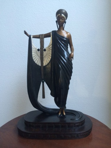 Sophisticated Lady Bronze Sculpture 1980