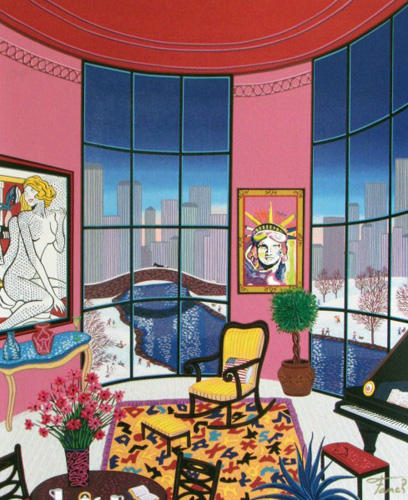 Interior With Lichtenstein 2006