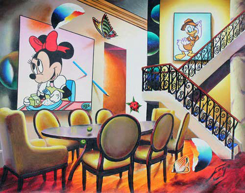 Dining with Minnie 2000