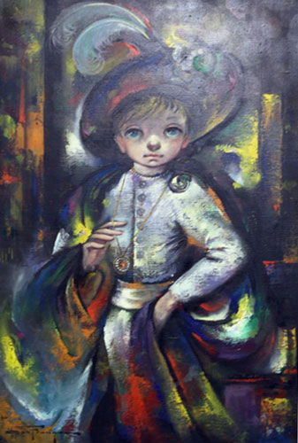 Untitled Young Spaniard 1966